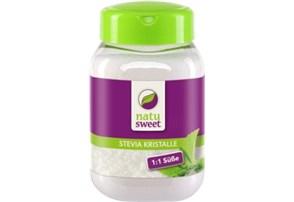 Natusweet Stevia Kristalle 400 g:    eignen sich zum Kochen, Backen und Verfeinern   enthält hochwertige Steviol